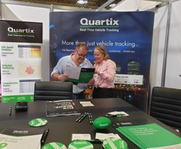 Award-winning vehicle tracking supplier, Quartix, exhibits at RWM'19